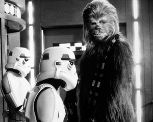 """""""Star Wars""""Peter Mayhew1977 LucasfilmPhoto by John Jay - Image 3748_0210"""