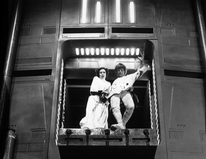 """""""Star Wars""""Carrie Fisher, Mark Hamill1977 LucasfilmPhoto by John Jay - Image 3748_0213"""