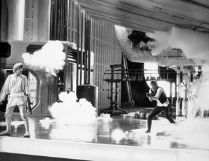 """Star Wars""Mark Hamill, Harrison Ford1977 LucasfilmPhoto by John Jay - Image 3748_0215"