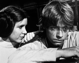 """Star Wars""Carrie Fisher, Mark Hamill1977 LucasfilmPhoto by John Jay - Image 3748_0216"