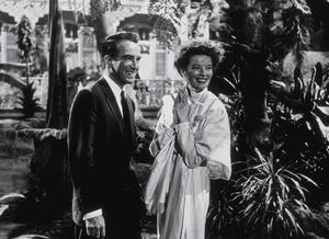 """Suddenly Last Summer""Katharine Hepburn and Montgomery Clift1959 Columbia**R.C. - Image 3756_0010"