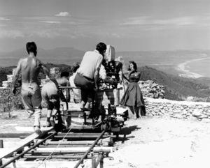 """""""Suddenly Last Summer"""" Elizabeth Taylor, Cameraman Jack Hildyard1959 Columbia / **I.V. - Image 3756_0028"""