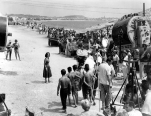 """""""Suddenly Last Summer"""" Elizabeth Taylor during a production set.1959 Columbia / **I.V. - Image 3756_0035"""