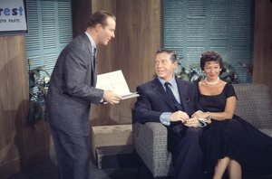 """""""This Is Your Life,""""Milton Berle and Ralph Edwards.1956/NBCPhoto by Gerald Smith - Image 3774_0005"""