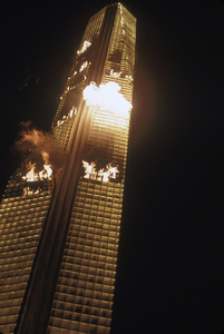 """The Towering Inferno""1974 20th Century Fox - Image 3784_0114"