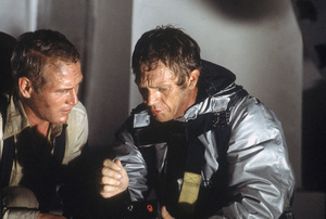 """""""The Towering Inferno""""Paul Newman, Steve McQueen1974 20th Century Fox - Image 3784_0115"""