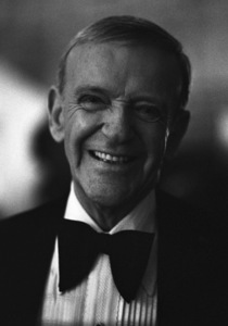 """""""The Towering Inferno"""" Fred Astaire1974© 1978 Wynn Hammer - Image 3784_0126"""