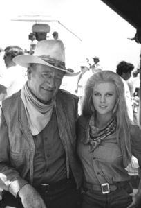 """The Train Robbers""John Wayne, Ann-Margret1973 Warner Brothers © 1978 David Sutton - Image 3785_0100"