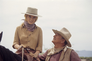 """The Train Robbers""Ann-Margret, John Wayne 1973© 1978 David Sutton - Image 3785_0128"
