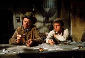 """The Train Robbers,"" Warner Bros. 1973.Ben Johnson © 1978 David Sutton - Image 3785_0163"