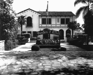 Hollywood and Los Angeles LandmarksGarden of Allah Hotel, 1938 - Image 3801_0001