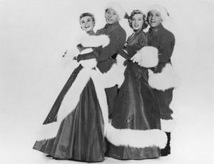 """White Christmas""Vera Ellen, Danny Kaye, Rosemary Clooney, Bing Crosby1954 Paramount - Image 3816_0001"