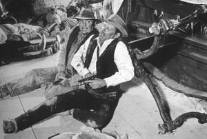 """The Wild Bunch""Ernest Borgnine, William Holden1969 Warner Brothers - Image 3820_0107"