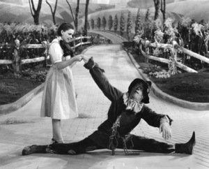 """Wizard of Oz""Judy Garland & Ray Bolger 1939 MGM** I.V. - Image 3823_0002"