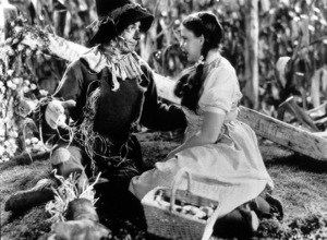 Ray Bolger, Judy GarlandFilm SetWizard Of Oz, The (1939)0032138MGM - Image 3823_0005