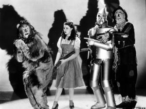 Bert Lahr, Judy Garland, Jack Haley, Ray BolgerWizard Of Oz, The (1939)0032138MGM - Image 3823_0006