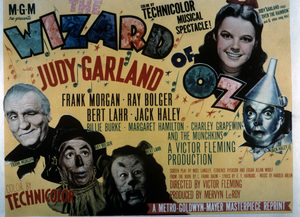 """The Wizard of Oz""Frank Morgan, Ray Bolger, Bert Lahr, Judy Garland, Jack Haley1939 MGM - Image 3823_0015"
