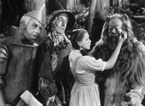 """""""The Wizard of Oz""""Jack Haley, Ray Bolger, Judy Garland, Bert Lahr1939 MGM - Image 3823_0024"""