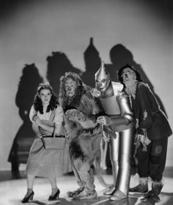 """The Wizard of Oz""Judy Garland, Bert Lahr, Jack Haley, Ray Bolger 1939 MGM**I.V. - Image 3823_0033"