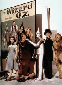 """The Wizard of Oz"" Judy Garland, Ray Bolger, Jack Haley, Frank Morgan, Bert Lahr 1939 MGM - Image 3823_0035"