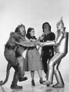Bert Lahr, Judy Garland, Ray Bolger, Jack HaleyWizard Of Oz,The (1939)0032138 - Image 3823_0044