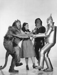 Bert Lahr, Judy Garland, Ray Bolger, Jack HaleyWizard Of Oz,The (1939)0032138 - Image 3823_0044