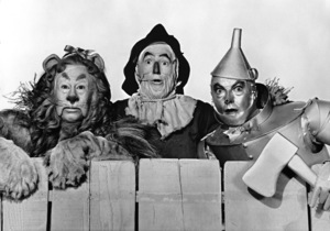 """The Wizard of Oz""Bert Lahr, Ray Bolger, Jack Haley1939 MGM - Image 3823_0045"