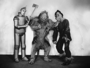 """""""The Wizard of Oz""""Jack Haley, Bert Lahr, Ray Bolger1939 MGM - Image 3823_0048"""