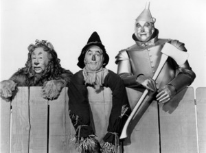 """The Wizard of Oz""Bert Lahr, Ray Bolger, Jack Haley1939 MGM - Image 3823_0052"