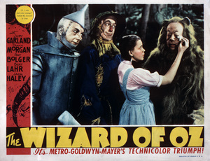 """The Wizard of Oz""Jack Haley, Ray Bolger, Judy Garland, Bert Lahr1939 MGM** M.H. - Image 3823_0112"