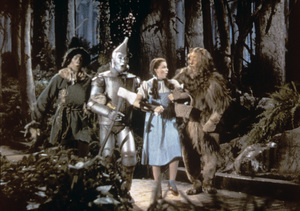 """""""The Wizard of Oz""""Ray Bolger, Jack Haley, Judy Garland, Bert Lahr1939 MGM - Image 3823_0116"""