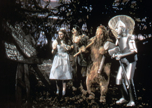 """The Wizard of Oz""Judy Garland, Ray Bolger, Bert Lahr, Jack Haley1939 MGM - Image 3823_0118"