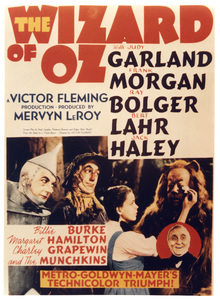 """""""The Wizard of Oz""""Poster1939 MGM**I.V. - Image 3823_0126"""