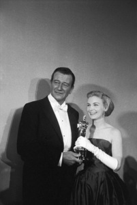 """The 30th Annual Academy Awards""John Wayne, Joanne Woodward1958© 1978 Sid Avery - Image 3842_0001"