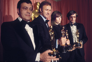 """Academy Awards: 44th Annual""Philip D'Antoni, Gene Hackman, Jane Fonda1972 © 1978 Bud Gray - Image 3842_0005"