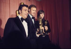 """Academy Awards: 44th Annual""Philip D'Antoni, Gene Hackman, Jane Fonda1972 © 1978 Bud Gray - Image 3842_0006"