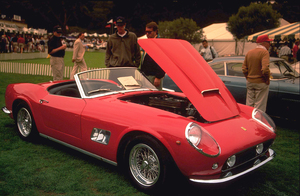 Car Category1997 Concours ItalianoMontery CA © 1997 Ron Avery - Image 3846_0184