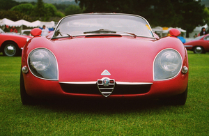 Car Category1967 Alfa Romeo Type 33 Stradale1998 Concours Italiano © 1998 Ron Avery - Image 3846_0355