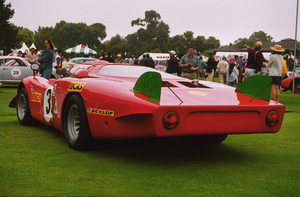 Car Category1968 Alfa Romeo Type 33/21998 Concours Italiano © 1998 Ron Avery - Image 3846_0360