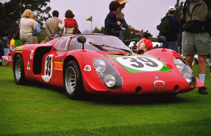 Car Category1968 Alfa Romeo Type 33/21998 Concours Italiano © 1998 Ron Avery - Image 3846_0361