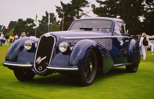 Car Category1937 8C 2900 Alfa Romeo1998 Concours Italiano © 1998 Ron Avery - Image 3846_0366