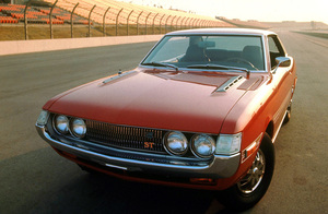 Car Category 1971 Toyota Celica ST Shot at Ontario Motor Speedway © 1978 Sid Avery MPTV - Image 3846_0409