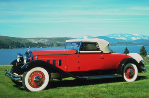 Car Category1931 Packard 845 Deluxe Convertible CoupeOwner Julian Eccles © 1992 Glenn EmbreeMPTV - Image 3846_0426