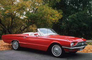 Car Category1966 Ford Thunderbird ConvertibleOwner Bob Peterson © 1995 Glenn EmbreeMPTV - Image 3846_0431