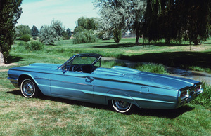 Car Category1964 Ford Thunderbird ConvertibleOwner Bonnie Baird Jones © 1992 Glenn EmbreeMPTV - Image 3846_0442