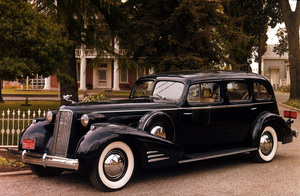 Car Category1936 Cadillac Style 5875 Fleetwood7-PassengerOwner Charles Jones © 1986 Glenn EmbreeMPTV - Image 3846_0444