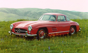 Car Category1955 Mercedes Benz 300 SLOwner Hyram Pingree © 1983 Glenn EmbreeMPTV - Image 3846_0448