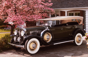 "Car Category1931 Buick 8-95 7 Passenger Touring Owner Barbara & ""Bud"" Rex © 1987 Glenn EmbreeMPTV - Image 3846_0449"