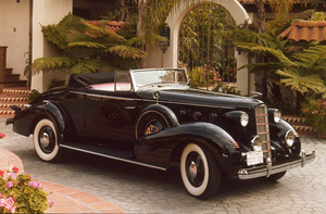 Car Category1934 LaSalle Convertible CoupeOwner Ed Suddarth © 1982 Glenn EmbreeMPTV - Image 3846_0450