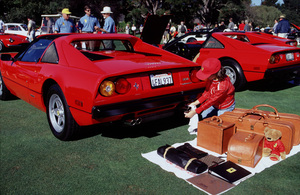 Cars / Toni Avery2000 Concorso Italiano Monterey, CA1984 Ferrari 308 GTS QV © 2000 Ron AveryMPTV - Image 3846_0541